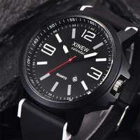 XI Luxury Wrist Watches Stainless Steel Quartz Men's Watch Clock Relogio masculino Fast Shipping Feida