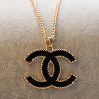 iOffer: 14K Ma'am girl Gold Necklace for sale