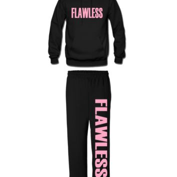flawless matching  hoodie and sweatpants