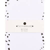 Brush Dots Notepad
