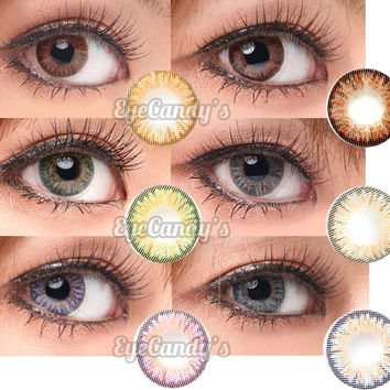 NEO Princess Eyes Series - Colored Circle Lenses | EyeCandy's