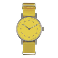 VOID Watches — Yellow V03B Analogue Watch NATO Strap