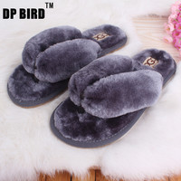 19 Colors Home Cotton Plush Slippers
