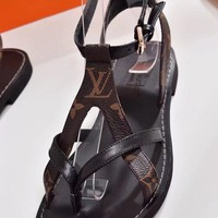 Louis Vuitton LV Women's spring Fashion shoes Sandals