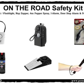 """""""On The Road"""" Safety Travel Kit"""