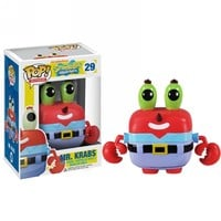 Kirin Hobby : POP! Television: Spongebob ~ Mr. Krabs Vinyl Figure by Funko 830395028958