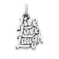 """Live, Love, Laugh"" Charm 