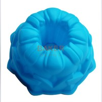 8 inch angle cake molds large silicone cake mold Cuckoo nest great circle mold tulip pastry molds SCM-003-6