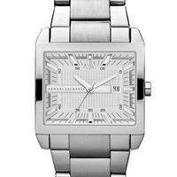 Armani Exchange Mens Tenno Stainless Steel Watch