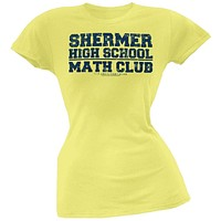 Breakfast Club - Math Club Juniors T-Shirt