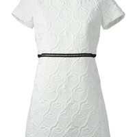 Giamba Textured Fitted Dress - Stefania Mode - Farfetch.com