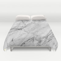 Marble Duvet Cover by Patterns And Textures