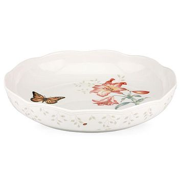 Butterfly Meadow® Low Serving Bowl by Lenox