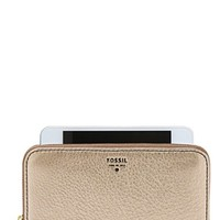 Women's Fossil 'Sydney' Zip Around Phone Wallet