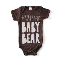 Baby Clothing - Baby Bear Printed Onesuit