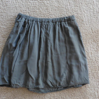 Brandy Melville Army Green Skirt