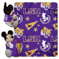 LSU Tigers NCAA Mickey Mouse with Throw Combo