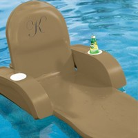 Monogrammed Pool Chaise - Frontgate