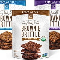 Organic Brownie Brittle 5 oz Variety Pack