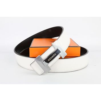 Hermes belt men's and women's casual casual style H letter fashion belt586