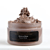 Mud & Milk FACIAL MASK- As Seen on Martha Stewart and Exclusively Handmade For Jessica Alba