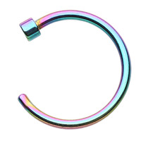Colorline Nose Hoop Ring