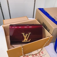 lv louis vuitton women leather shoulder bags satchel tote bag handbag shopping leather tote crossbody 276
