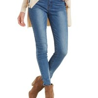 High-Waisted Skinny Jeans by Charlotte Russe