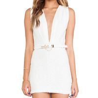 Style Stalker Mustang Dress in White