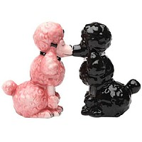 Poodles Salt & Pepper Shakers Collectible Set