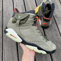 Travis Scott x Air Jordan 6 AJ6TS 3M CN1084-200 Sneaker Shoes