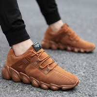 Sollomensi Autumn/Winter Running Shoes for Men Footwear Sports Shoes Jogging Walking Athletics Shoes Trainer Male Sneaker