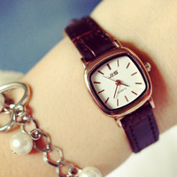 Fashion Women Small Casual Watch High-quality Watches + Christmas Gift Box-20