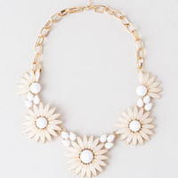 WATERVILLE FLORAL STATEMENT NECKLACE