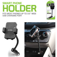 """Rotating 2.1a Charging Phone Mount - 3.5"""" wide"""
