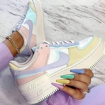 Nike Air Force 1 Shadow Pastel Women's Sneakers Shoes