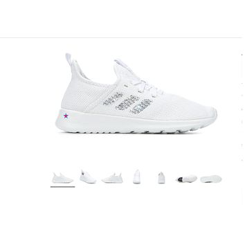 Crystal Women's Adidas Pure Sneakers - White
