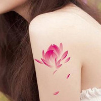 Fashion Body Art Stickers Removable Waterproof Temporary Tattoo = 4446344324