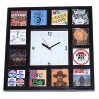 Back To The Future Stuff wall or desk clock by trasureiland