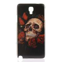 Skull Rose Hard PC Case Cover Back Shell Skin for Samsung Galaxy Note 3 Neo N7505 = 1916329924