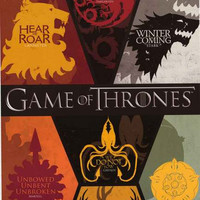 Game of Thrones Sigils Poster 24x36