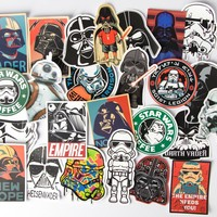 Kinds  Waterproof  Creative  Sticker  Skateboard  Lapto
