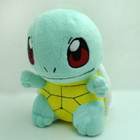 """HOT! New 6.5"""" SQUIRTLE Pokemon Rare Soft Plush Toy Doll"""