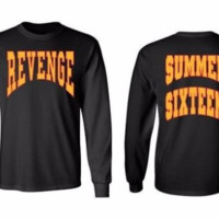 Summer Sixteen Tops Tee Men Tour Revenge Long Sleeve T-Shirt Revenge Shirts Drake Tops