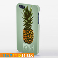 Pineapple Psych iPhone 4/4S, 5/5S, 5C Series Full Wrap Case