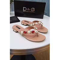 D&G Women Casual Shoes Boots fashionable casual leather Women Heels Sandal Shoes
