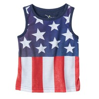 Jumping Beans Stars & Stripes Tank Top - Baby