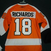MIKE RICHARDS #18 REEBOK PREMIER FLYERS VINTAGE JERSEY PRICED TO SELL SHIP!