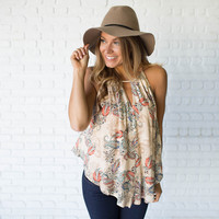 Lost In Paradise Paisley Blouse