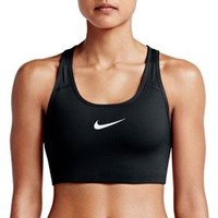 Nike Women's Pro Classic Swoosh Compression Graphic Sports Bra| DICK'S Sporting Goods